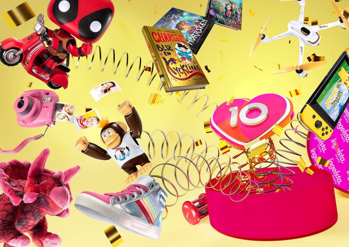 Ingelsta Shopping firar med Happy Events!