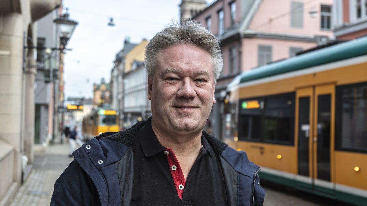"""Norrköpings """"ofrivillige motionär"""""""