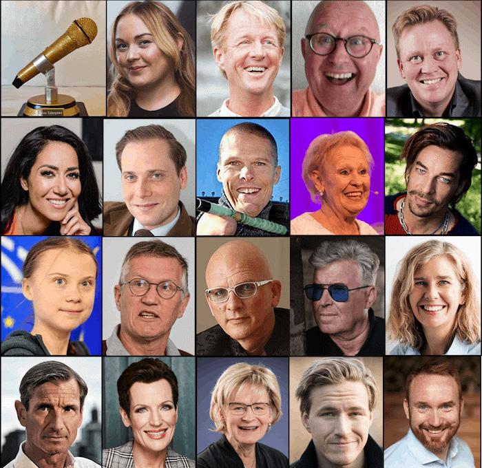 De är nominerade till stora Talarpriset 2020