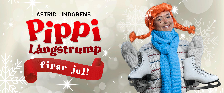 Pippi Långstrump firar jul